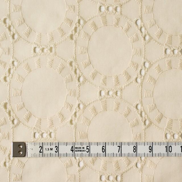 コットン×オーバル(カスタードクリーム)×ローン刺繍_全10色 イメージ4