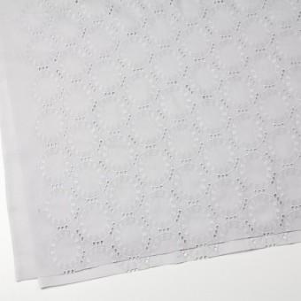 コットン×オーバル(ライトグレー)×ローン刺繍_全10色 サムネイル2