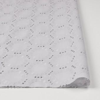 コットン×オーバル(ライトグレー)×ローン刺繍_全10色 サムネイル3