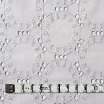 コットン×オーバル(ライトグレー)×ローン刺繍_全10色 サムネイル4
