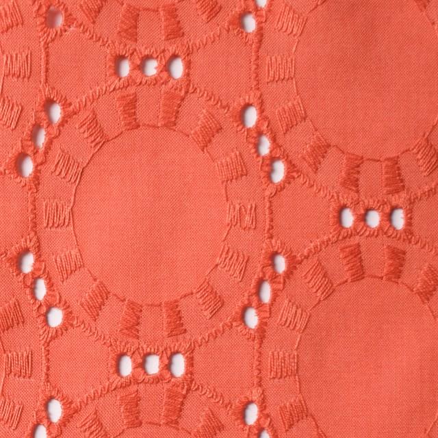 コットン×オーバル(バレンシア)×ローン刺繍_全10色 イメージ1
