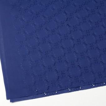 コットン×オーバル(マリンブルー)×ローン刺繍_全10色 サムネイル2