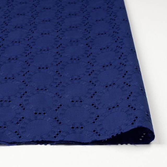 コットン×オーバル(マリンブルー)×ローン刺繍_全10色 イメージ3