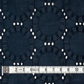 コットン×オーバル(アイアンネイビー)×ローン刺繍_全10色 サムネイル4
