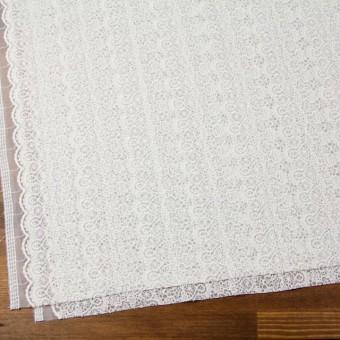 ナイロン×幾何学模様(オフホワイト)×チュール刺繍_全5色 サムネイル2