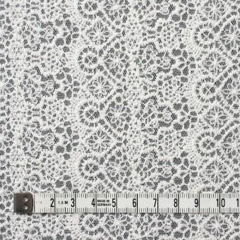 ナイロン×幾何学模様(オフホワイト)×チュール刺繍_全5色 サムネイル4