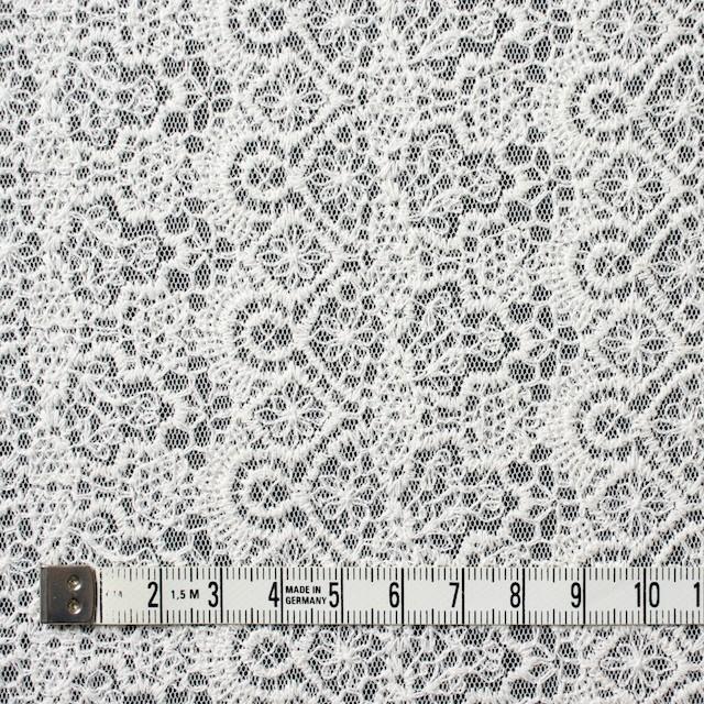 ナイロン×幾何学模様(オフホワイト)×チュール刺繍_全5色 イメージ4