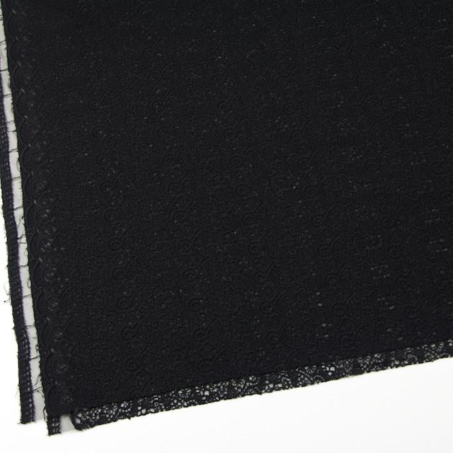 ナイロン×幾何学模様(ブラック)×チュール刺繍_全5色 イメージ2