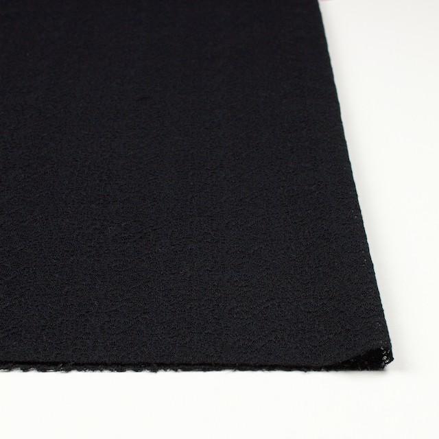 ナイロン×幾何学模様(ブラック)×チュール刺繍_全5色 イメージ3