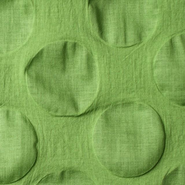 コットン×サークル(ライムグリーン)×ローンリップル_全5色 イメージ1