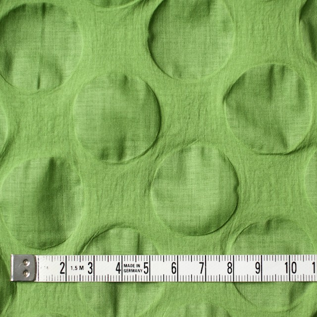 コットン×サークル(ライムグリーン)×ローンリップル_全5色 イメージ4