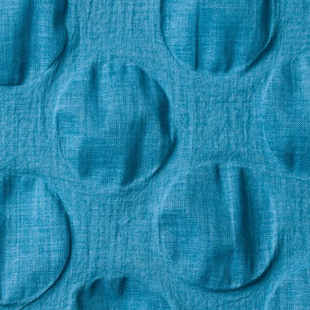コットン×サークル(ターコイズブルー)×ローンリップル_全5色 イメージ1