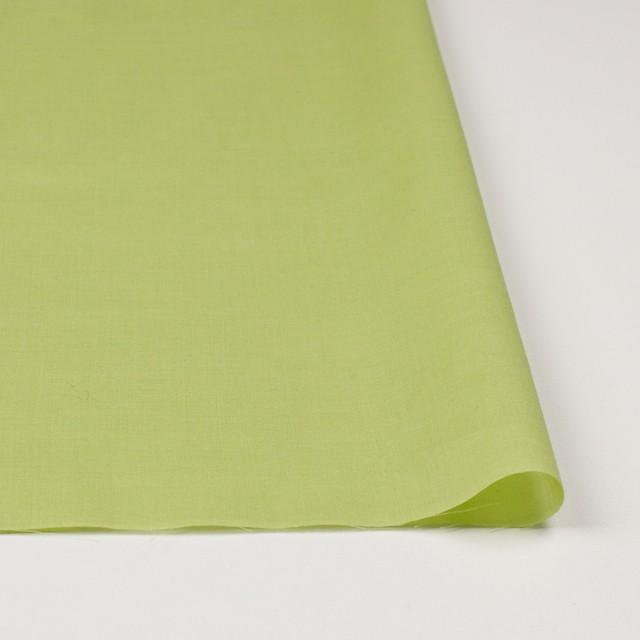 コットン×幾何学模様(イエローグリーン&パープル)×ボイル刺繍_全2色 イメージ3