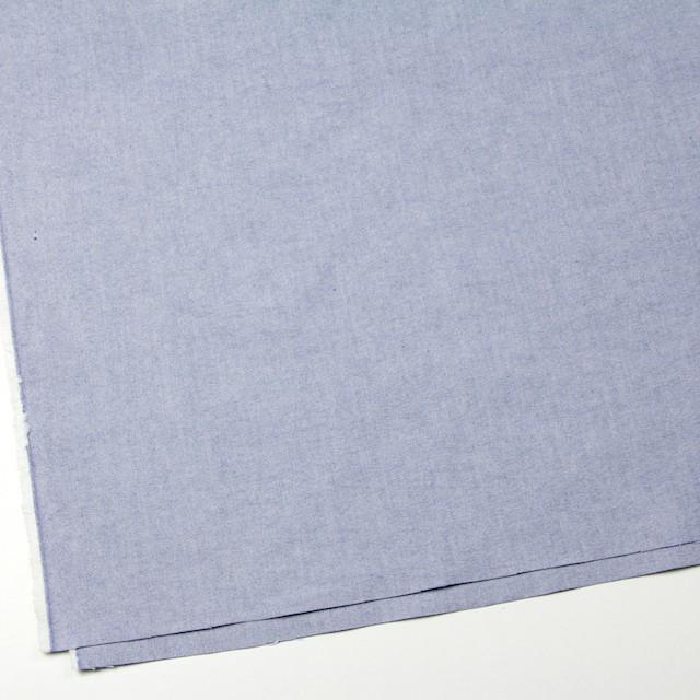 コットン×無地(ブルー)×オックスフォード_全3色 イメージ2