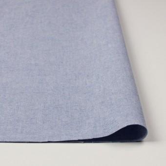 コットン×無地(ブルー)×オックスフォード_全3色 サムネイル3