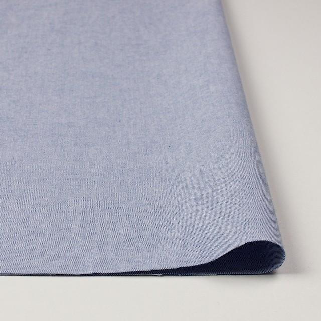 コットン×無地(ブルー)×オックスフォード_全3色 イメージ3