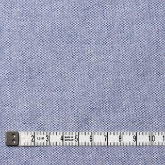 コットン×無地(ブルー)×オックスフォード_全3色 サムネイル4