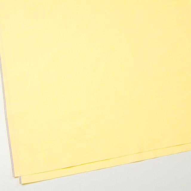 コットン×無地(イエロー)×オックスフォード・ワッシャー_全4色 イメージ2