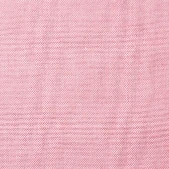 コットン×無地(ピンク)×オックスフォード・ワッシャー_全4色