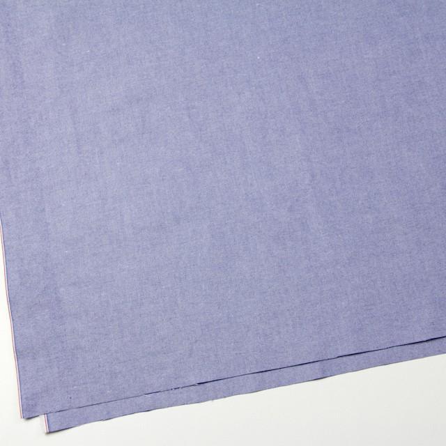 コットン×無地(ネイビーブルー)×オックスフォード・ワッシャー_全4色 イメージ2