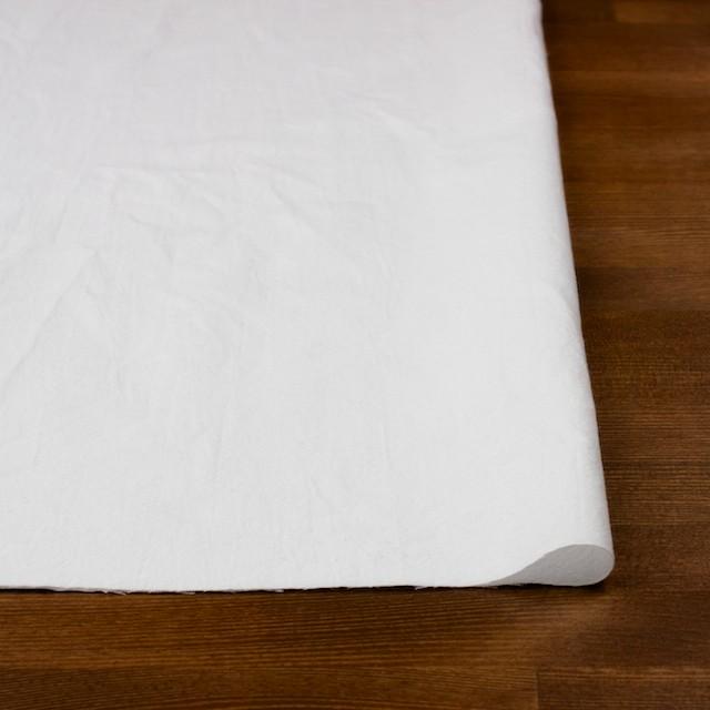 コットン×無地(ホワイト)×オックスフォード・ワッシャー イメージ3