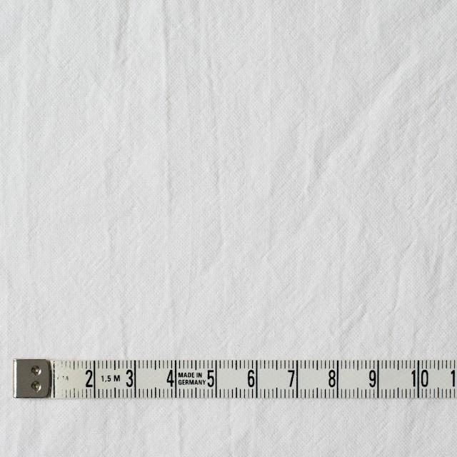 コットン×無地(ホワイト)×オックスフォード・ワッシャー イメージ4