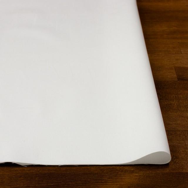 コットン&ポリウレタン×無地(オフホワイト)×オックスフォード・ストレッチ イメージ3