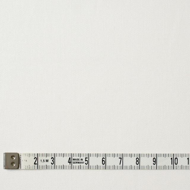 コットン&ポリウレタン×無地(オフホワイト)×オックスフォード・ストレッチ イメージ4