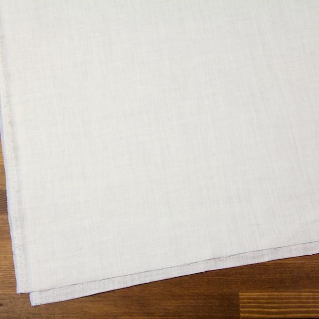 リネン×無地(オフホワイト)×ボイル イメージ2