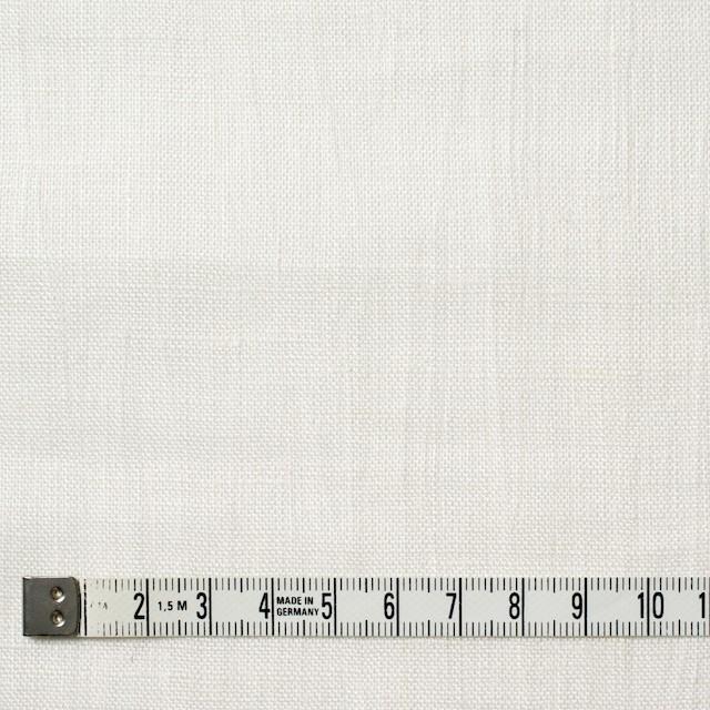 リネン×無地(オフホワイト)×ボイル イメージ4