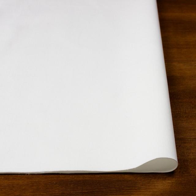 コットン&ポリウレタン×無地(オフホワイト)×サテンストレッチ イメージ3