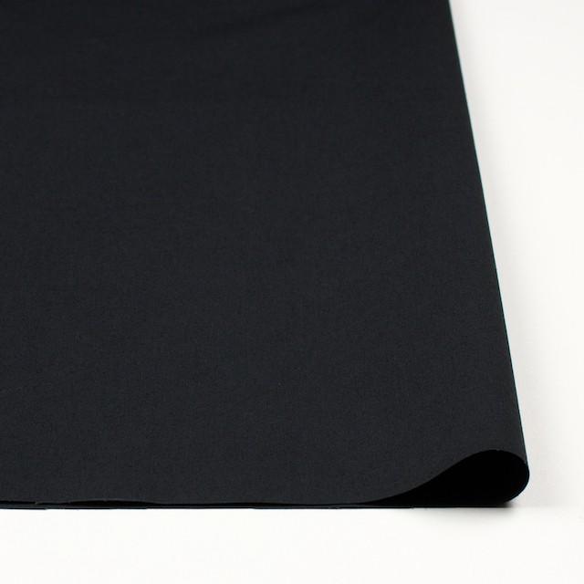 コットン×無地(ブラック)×ブロード イメージ3