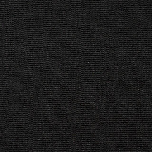 コットン&ウール×無地(ブラック)×ソフトギャバジン イメージ1