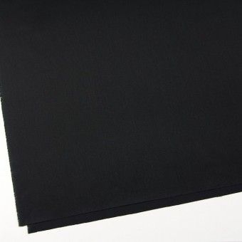 コットン&ウール×無地(ブラック)×ソフトギャバジン サムネイル2