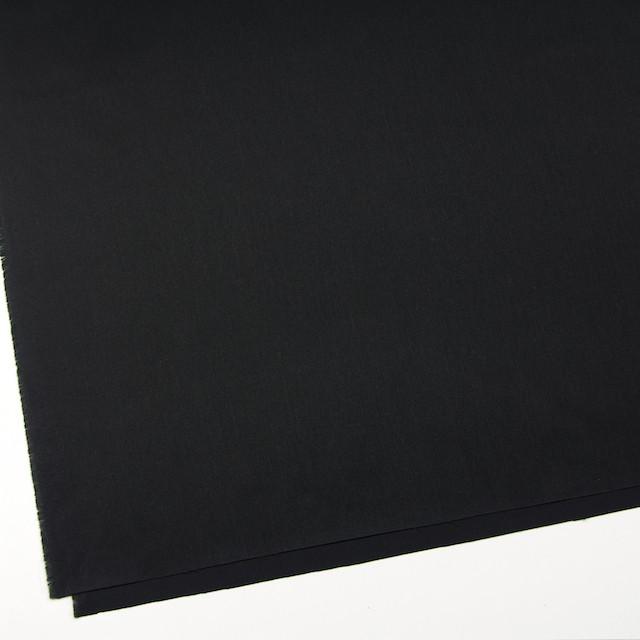 コットン&ウール×無地(ブラック)×ソフトギャバジン イメージ2