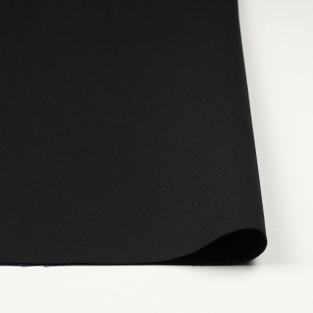 コットン×無地(ブラック)×キャンバス イメージ3