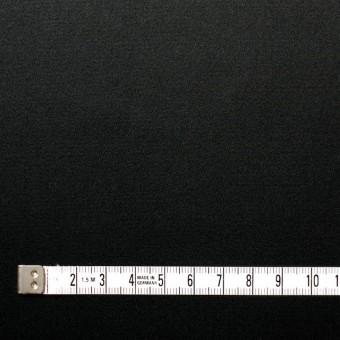 コットン&ポリウレタン×無地(ブラック)×サテンストレッチ サムネイル4