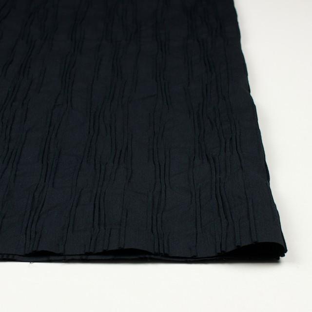 コットン&ナイロン混×無地(ブラック)×タテタック イメージ3
