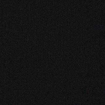 ウール×無地(ブラック)×サージ サムネイル1