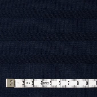 コットン×ボーダー(ダークネイビー)×天竺ニット_全2色 サムネイル4