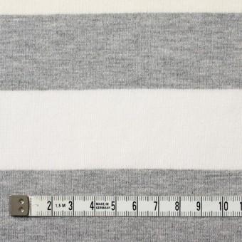 コットン×ボーダー(グレーミックス)×天竺ニット_全2色 サムネイル4