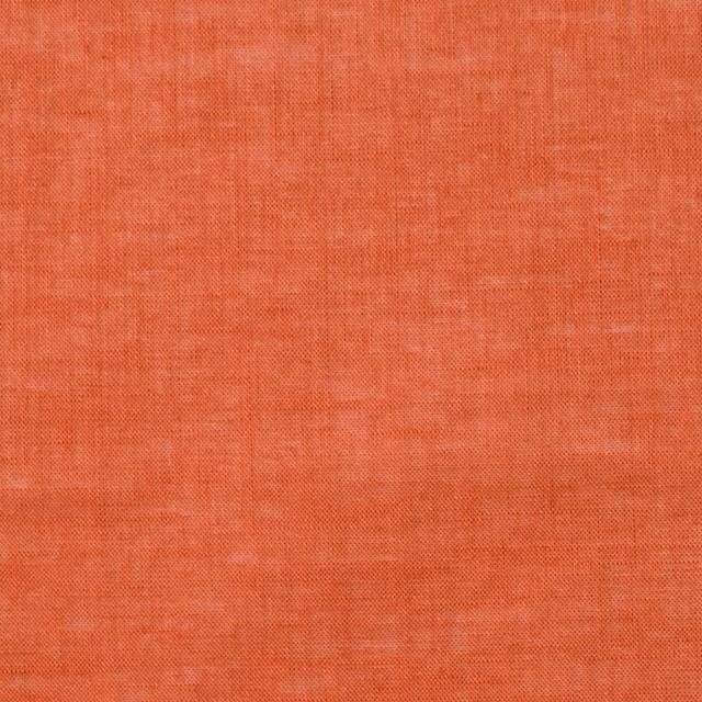 コットン&リネン×無地(オレンジ)×ボイル_全6色 イメージ1