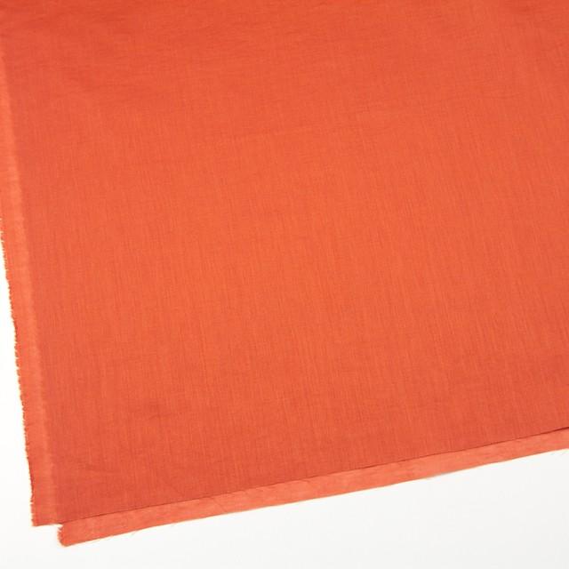 コットン&リネン×無地(オレンジ)×ボイル_全6色 イメージ2