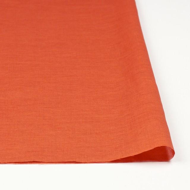 コットン&リネン×無地(オレンジ)×ボイル_全6色 イメージ3