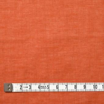 コットン&リネン×無地(オレンジ)×ボイル_全6色 サムネイル4