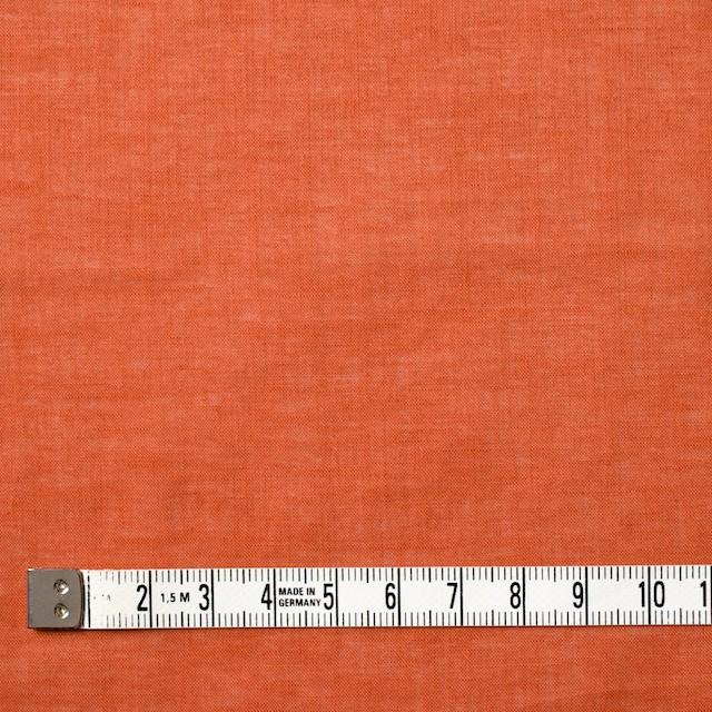 コットン&リネン×無地(オレンジ)×ボイル_全6色 イメージ4