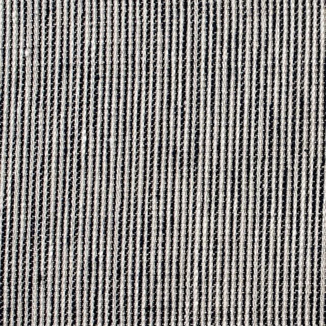 リネン&コットン×ストライプ(ダークネイビー)×コード織 イメージ1