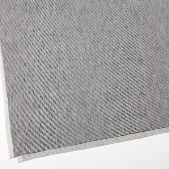 リネン&コットン×ストライプ(ダークネイビー)×コード織 サムネイル2