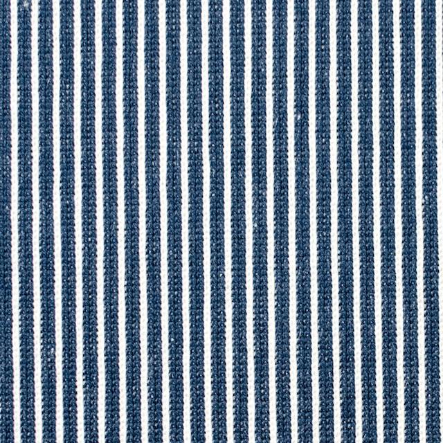 コットン×ストライプ(アイアンブルー)×ジャガードニット_全2色 イメージ1