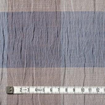 コットン×チェック(ブルーミックス)×ヨウリュウ_全2色 サムネイル4